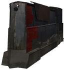 Razor train engine red