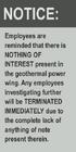Underground geothermal warning