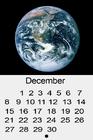 Blue Marble calendar 2