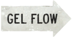Gel flow white