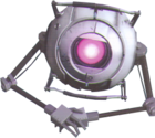 Portal Tabletop Party Escort Bot cropped
