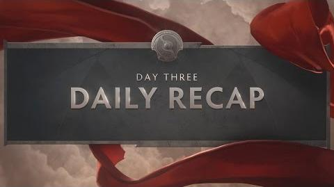 TI6 Day 3 Recap