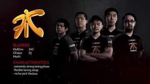 TI6 Team Fnatic