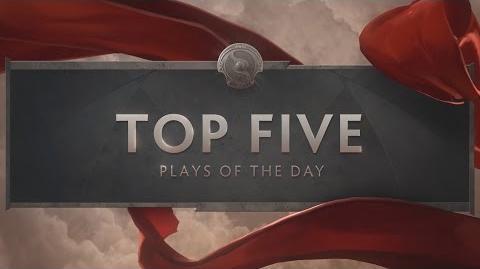TI6 Top 5 Day Three