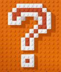 Lego credits logo question mark