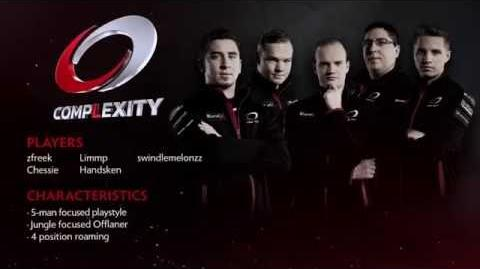 TI6 Team Complexity
