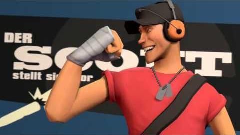 Der Scout stellt sich vor (Team Fortress 2)