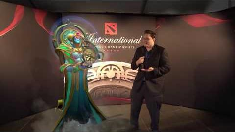 TI6 At the Event - Slacks with Oracle
