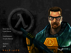 Half-Life Steam menu