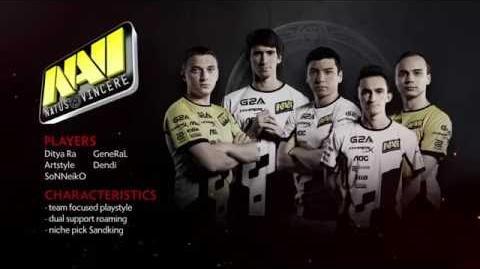 TI6 Team Na'Vi
