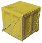 Wood crate 001 covered yellow