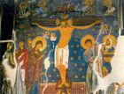St. Olga Studenica Crucifixion