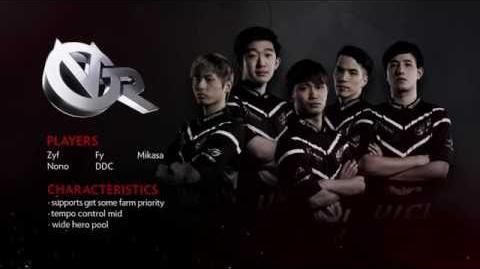 TI6 Team Vici Gaming Reborn