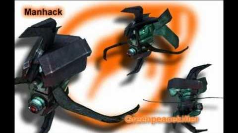 Half Life 2 - Manhack Sounds