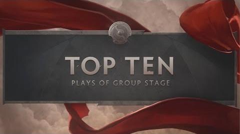 TI6 Group Stage Top Ten