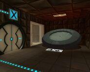 Destroy Portal Cube