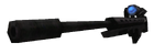 Sniper Rifle Survivor Worldmodel Blue