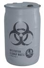 Barrel plastic cleanup