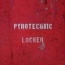 Pyrotechnic locker