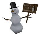 Snowman worldmodel