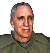 Captain Vance model bust