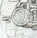 Vortex whirl