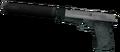 Silenced 9mm Pistol