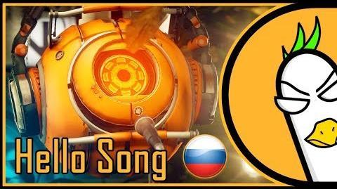 RUS COVER Portal Song — Hello (На русском)