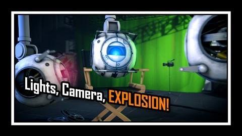 Portal 2 - Lights, Camera, Explosion! Saxxy 2014 - Short Comedy