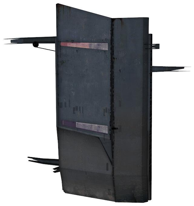 Тяжёлая бронированная дверь Альянса