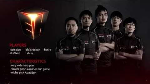TI6 Team EHOME