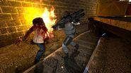 Combine Soldat vs Zombie