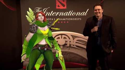 TI6 At the Event - Slacks with Windranger