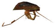Probe droid rear
