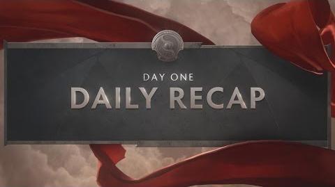 TI6 Day 1 Recap