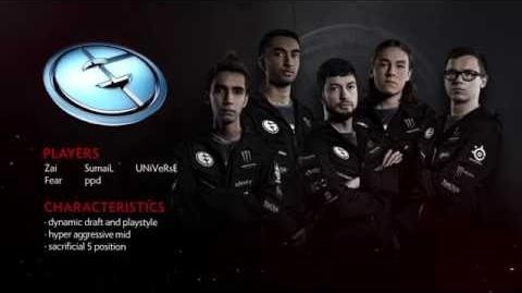 TI6 Team Evil Geniuses