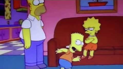 Lisa no vives de ensalada