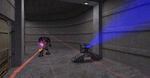 Xen floor turret fire