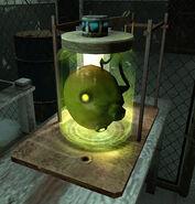 Cremator head jar BME