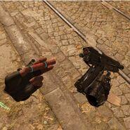 Combine Shotgun reload