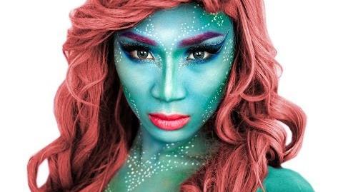 Mermaid Halloween Makeup Tutorial ThePrinceOfVanity