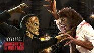 Frankenstein Meets the Wolf Man - Halloween Horror Nights 2019 Announcement