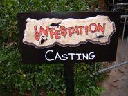 Infestation Casting Sign