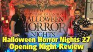 Halloween Horror Nights 27 Opening Night Review Universal Studios Florida