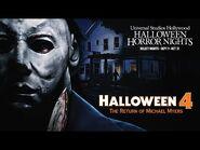 Halloween 4 Reveal - Halloween Horror Nights 2021 -UniversalHHN
