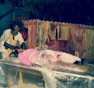 HHN 2007 Leatherface