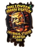 Retro Halloween Horror Nights IX 1999 Mummy Pin