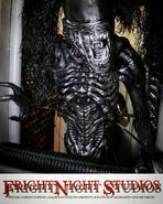 """Screenshot 2020-10-15 FrightNight Studios, LLC on Instagram """"ALIEN PUPPET created for the ALIENS vs PREDATOR house at Unive-...-(1)"""