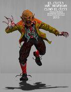 Clown El Cucuy Concept Art