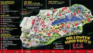 HHN 2001 Map